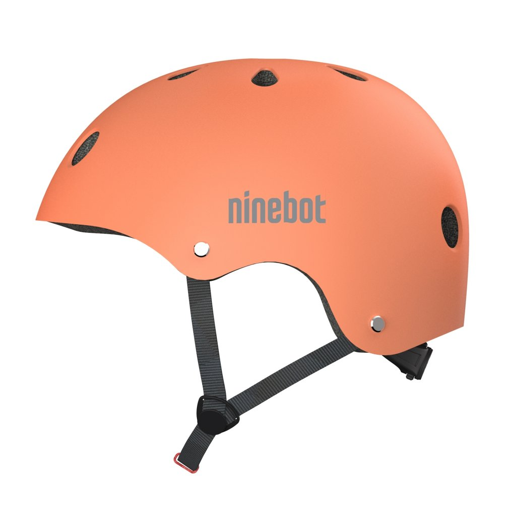 Ninebot Orange helmet side