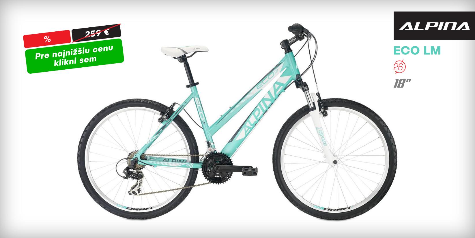 """Alpina Eco LM 2018 Aqua 18"""""""
