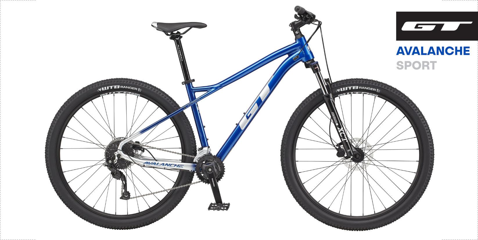 "GT Avalanche Sport 2021 Blue 29"""