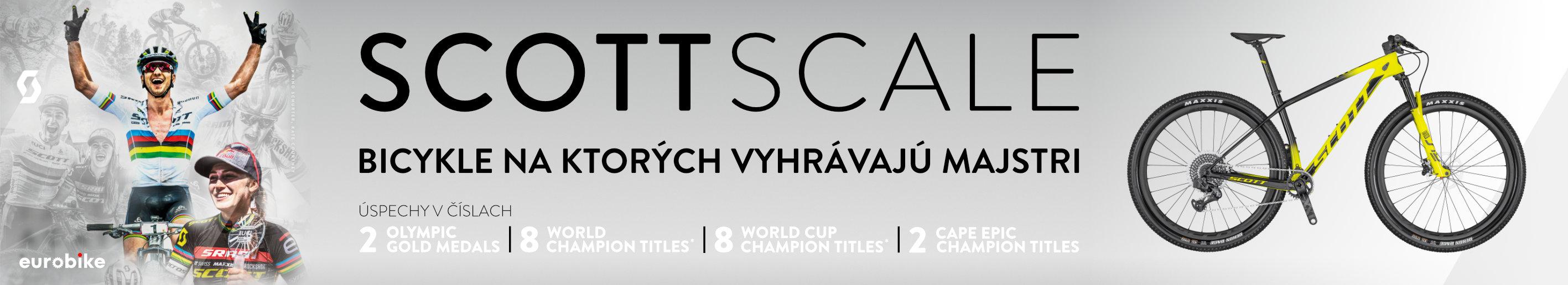 SCOTT Scale | Bicykle na ktorých vyhrávajú majstri!