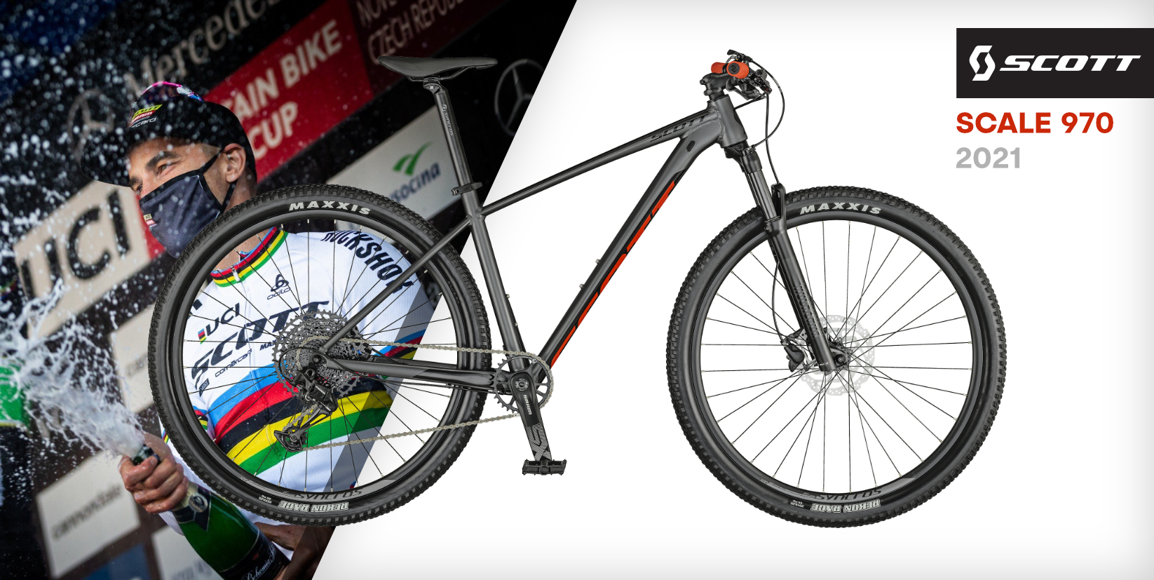 SCOTT Scale 970 Dark Grey 2021