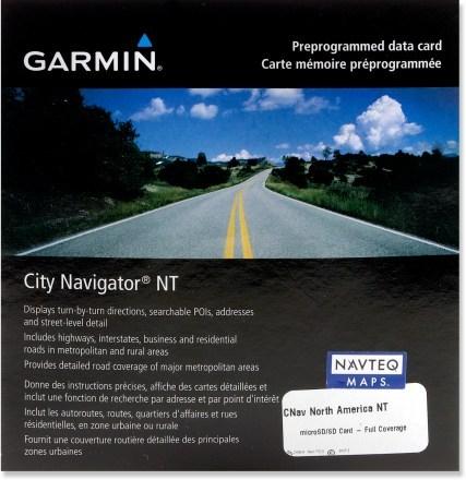 Softvér a mapy pre navigácie