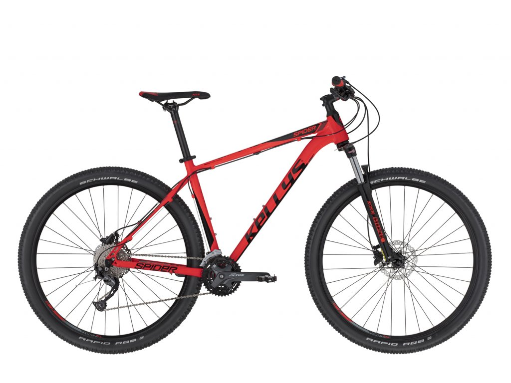 KELLYS SPIDER 70 RED 2020