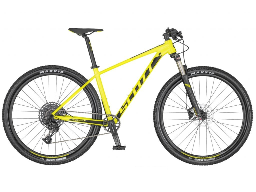SCOTT Scale 980 Yellow/Black 2020
