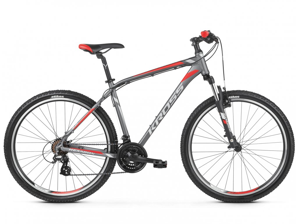 KROSS HEXAGON 2.0 GRPH SIL RED 26 S