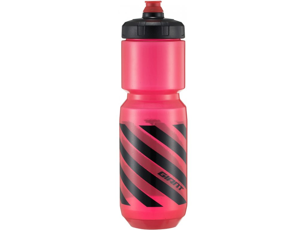 GIANT DOUBLESPRING 600ML TRANSP RED 1