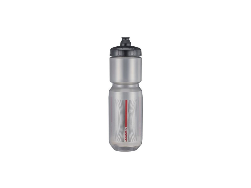 GIANT DOUBLESPRING 750ML TRANSP BLACK RED