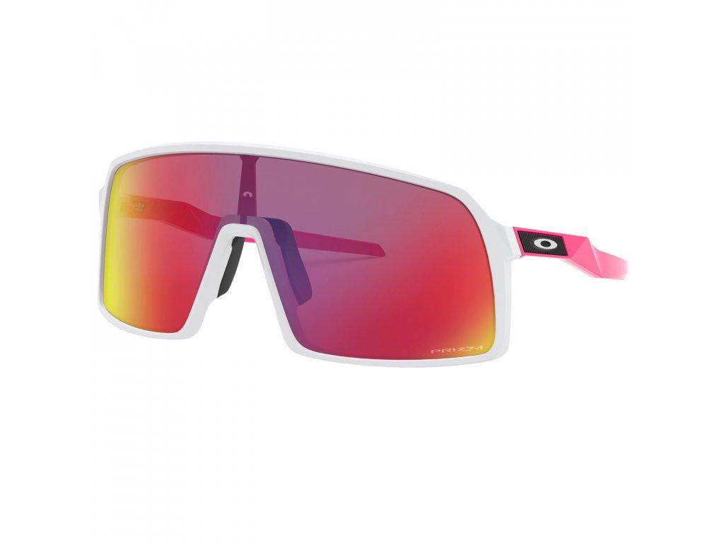 Oakley Sutro OO9406-1737 Matt white pink-prizm road