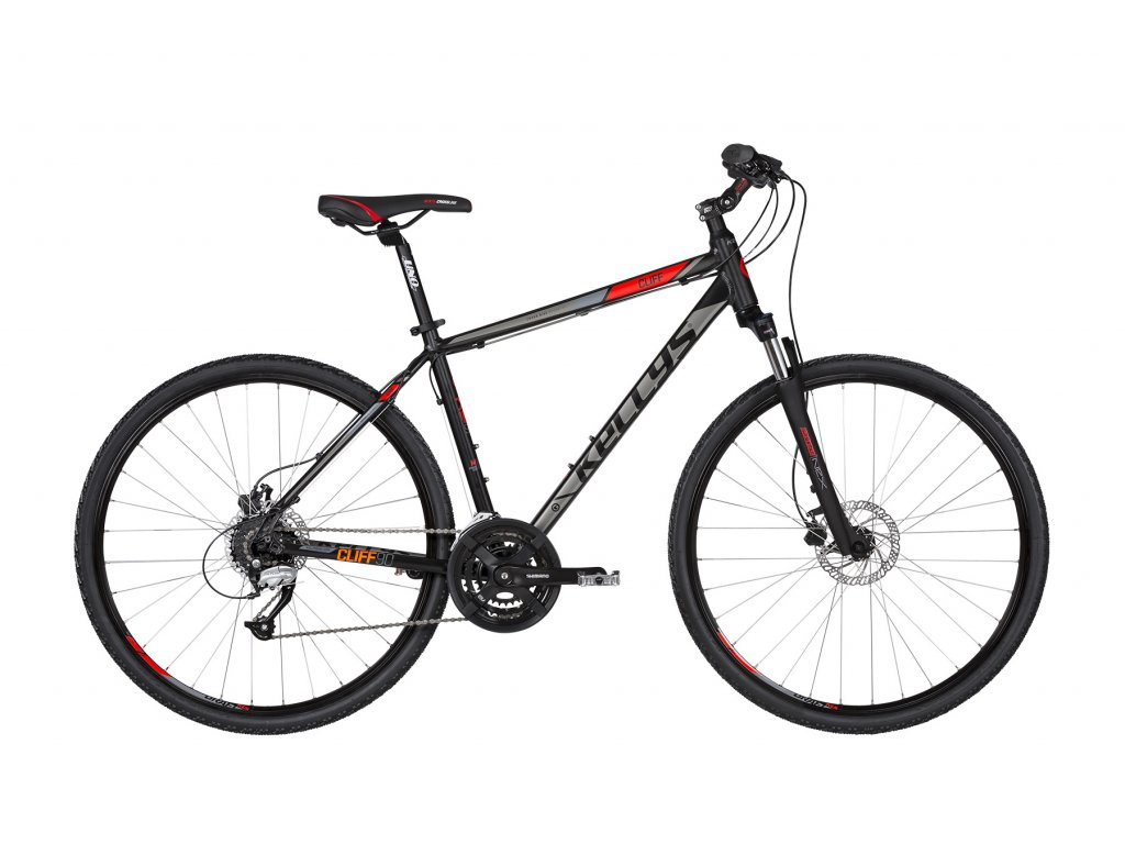 KELLYS CLIFF 90 2019 BLACK RED M