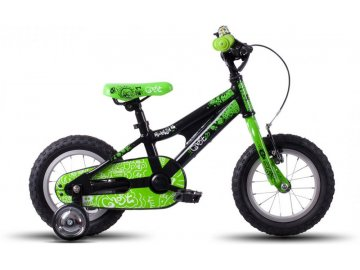 GHOST POWERKID 12 BLACK GREEN 1