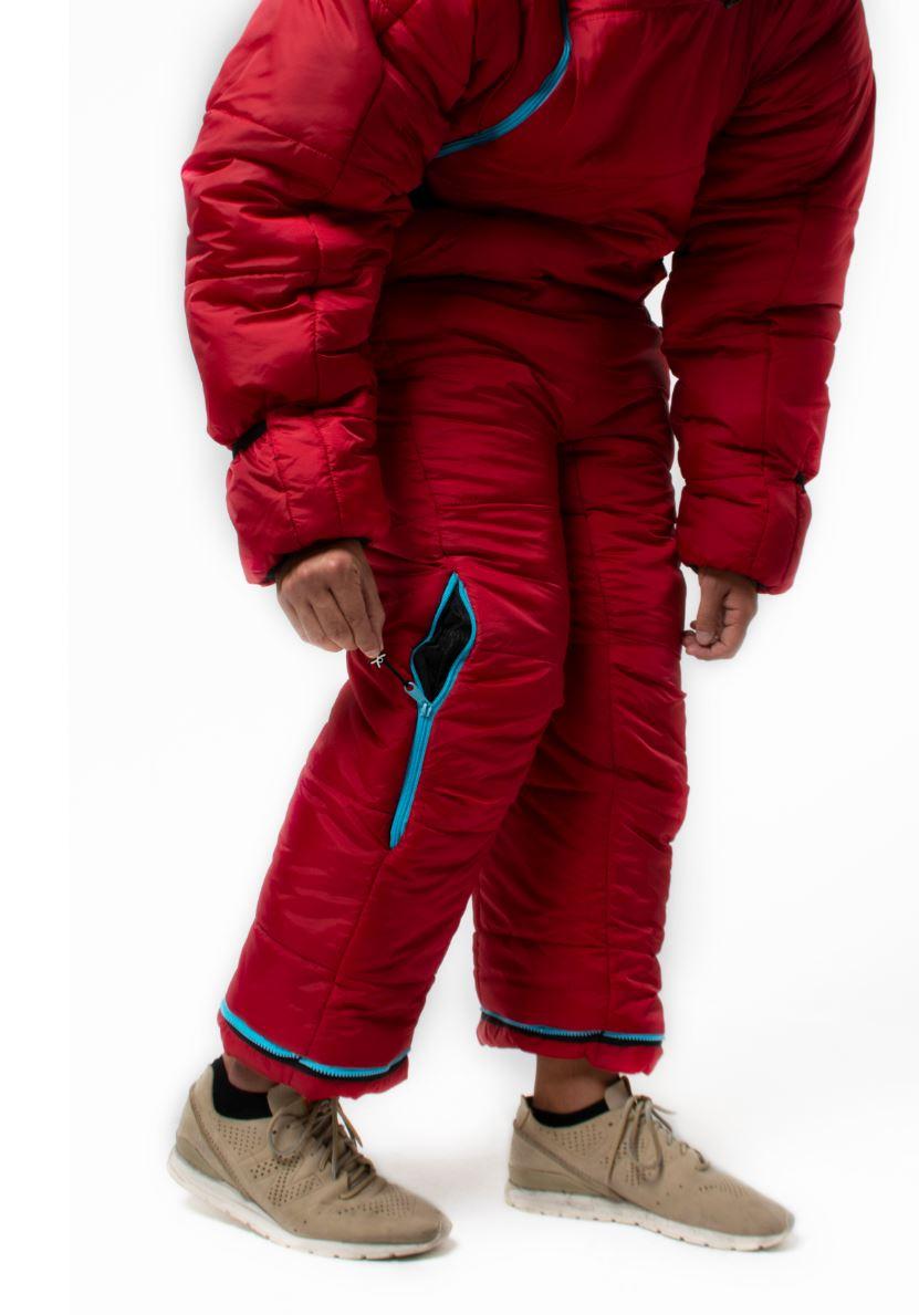 Zip pro vstup do kapsy kalhot