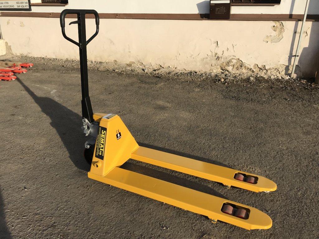 Paletový vozík - nosnost 2,5 t