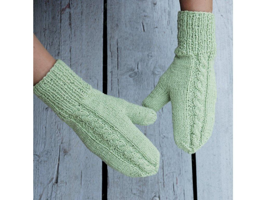 Palčáky na ručky zelené