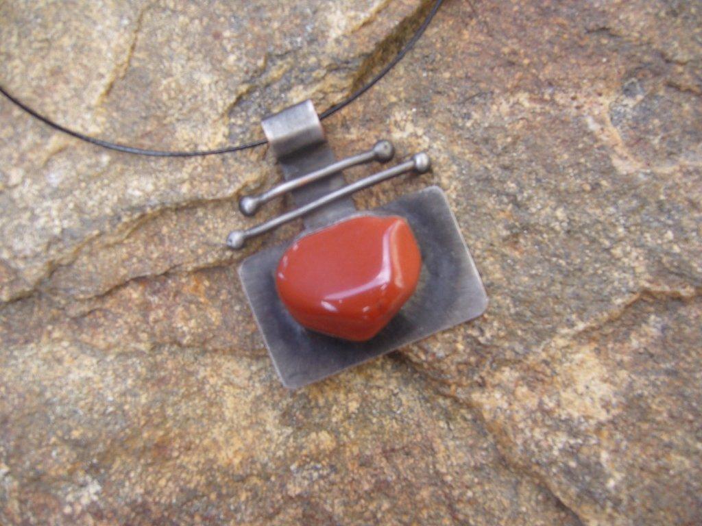 jaspis letovaný šperk