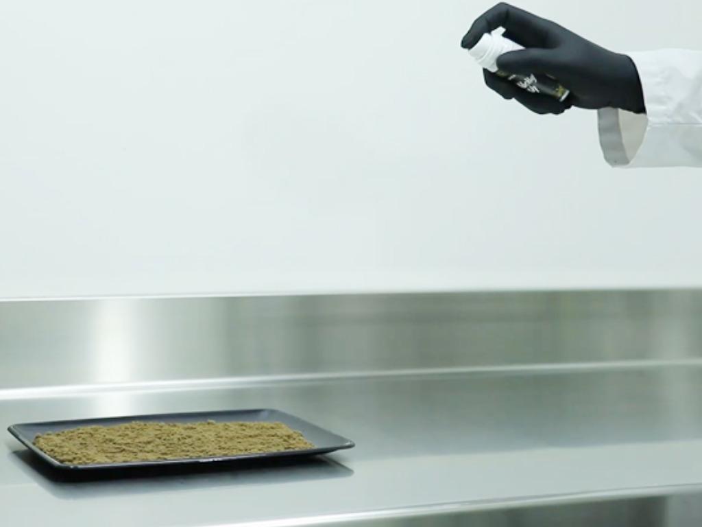 Jak přidat terpeny k suchým extrakcím a pryskyřicím pomocí Terps Spray