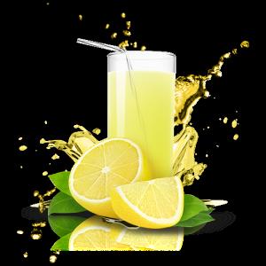 CBD citronová limonáda