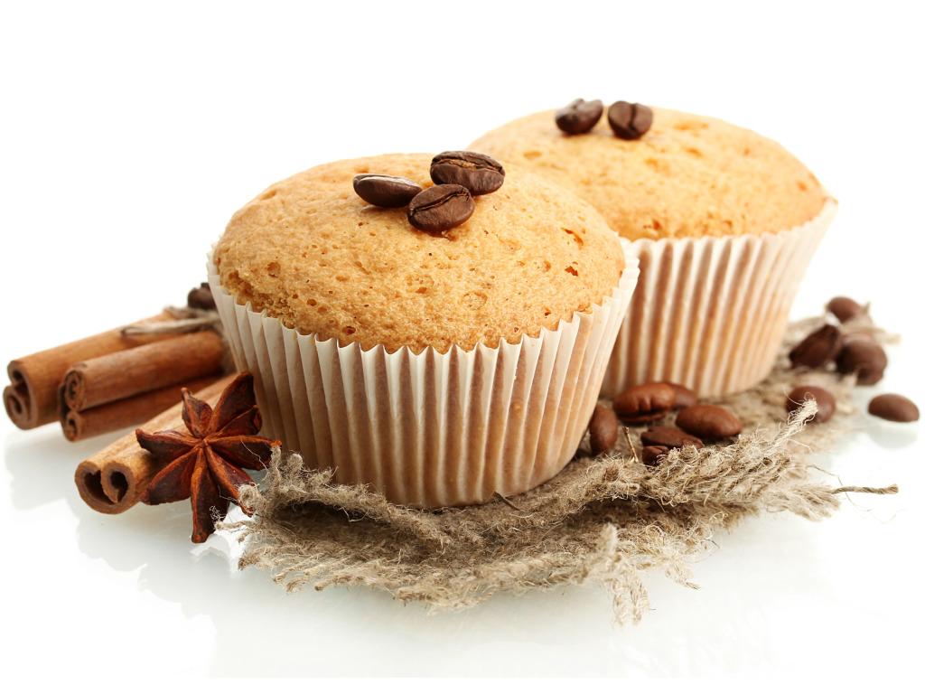 Jablečné konopné muffiny
