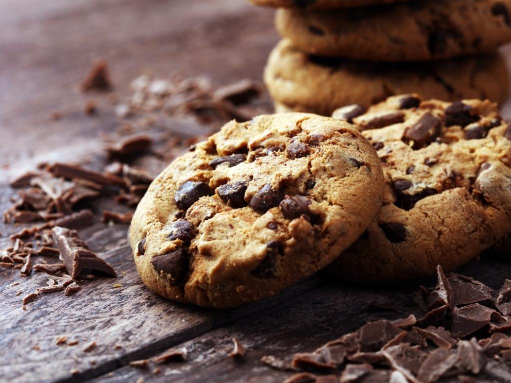 Konopné cookies s čokoládou
