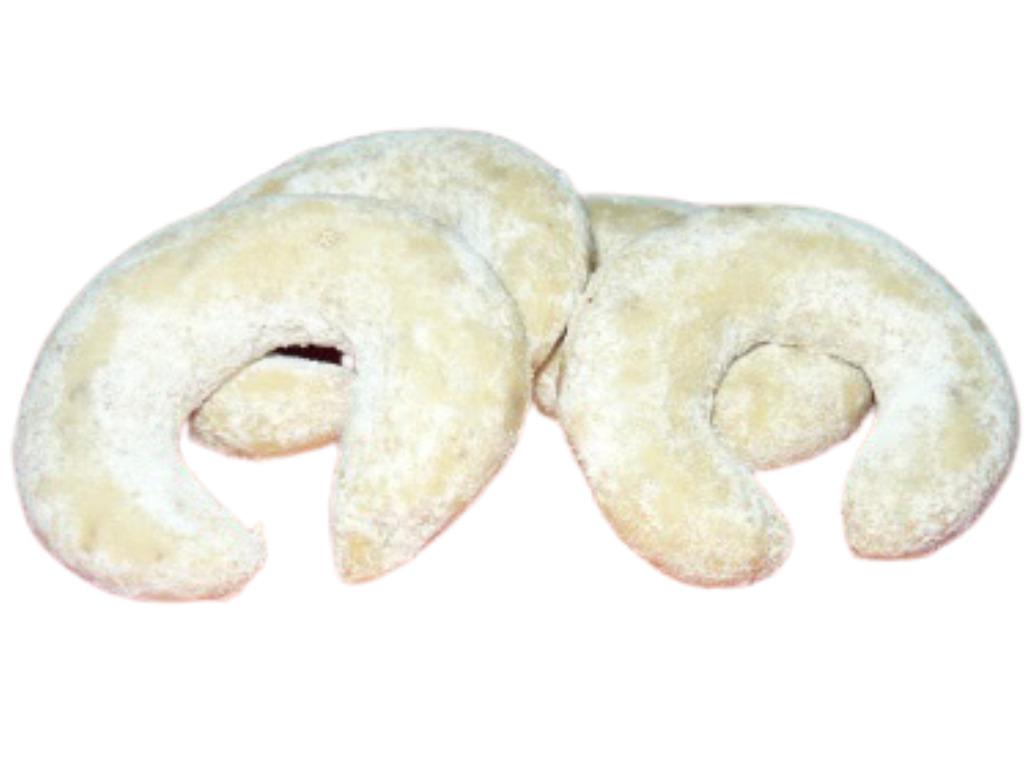 Vanilkové rohlíčky s konopným semínkem