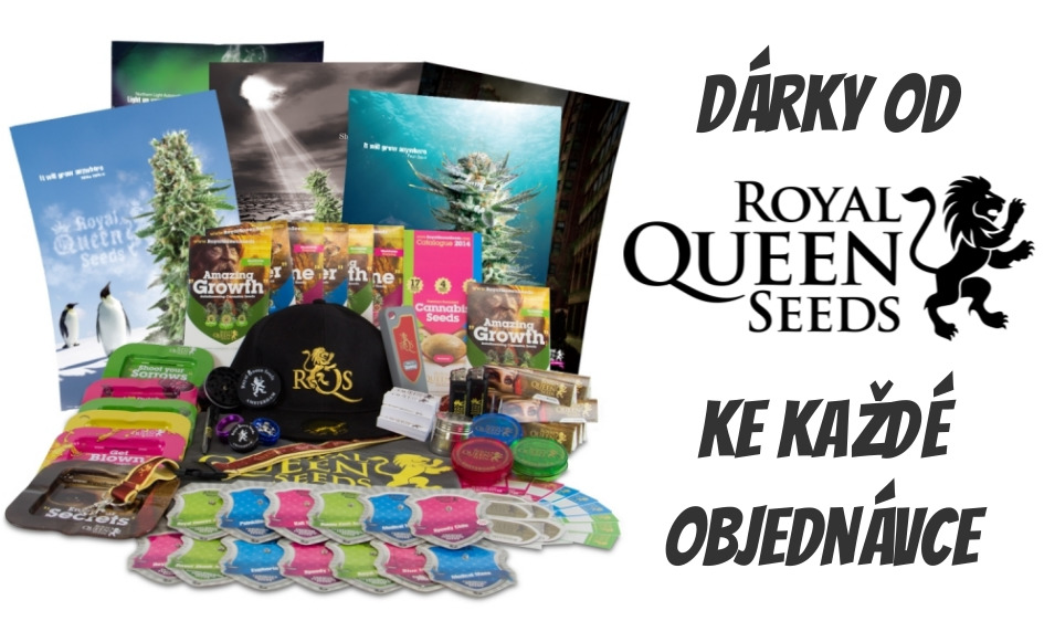 Dárky od Royal Quen Seeds