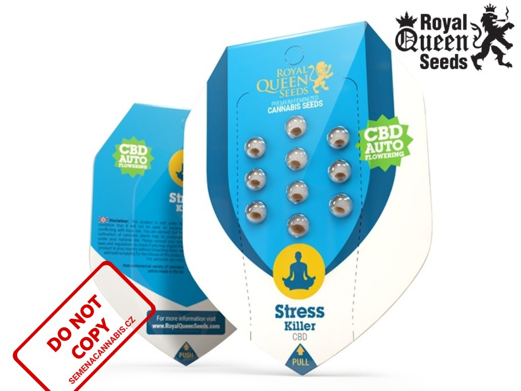 CBD Stress Killer AUTO   Royal Queen Seeds
