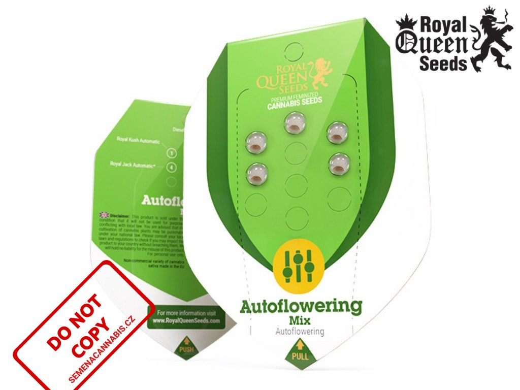 Autoflower Mix   Royal Queen Seeds