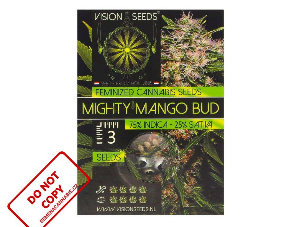 Mighty Mango Bud   Vision Seeds ((Ks) Feminized 3)