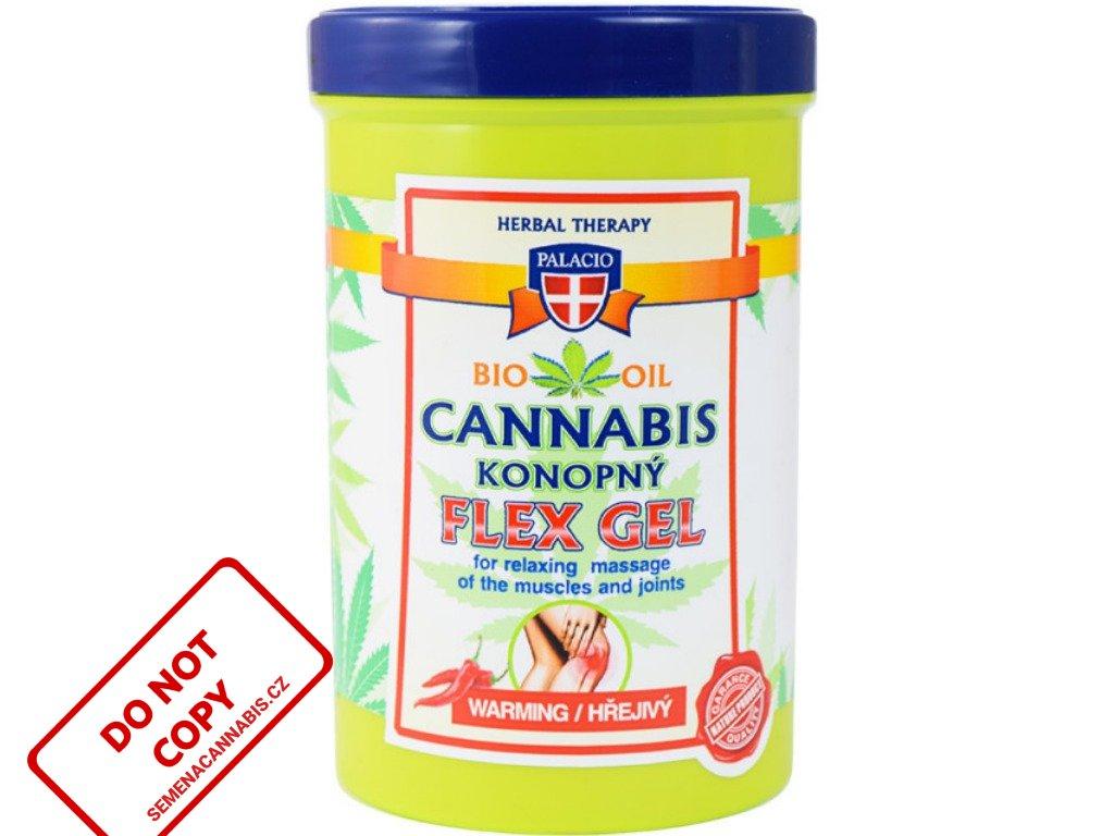 Konopný masážní gel FLEX hřejivý, 380ml | Cannabis