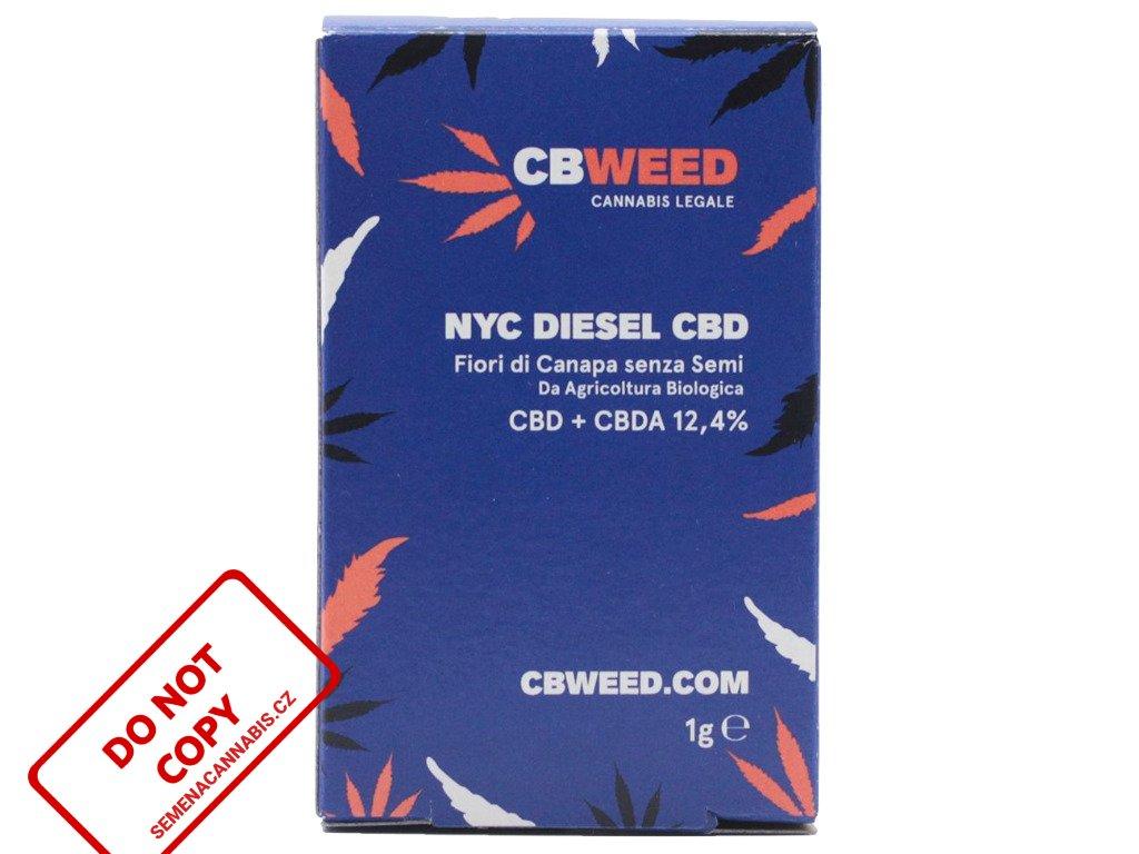 NYC Diesel CBD 1g | CBWEED