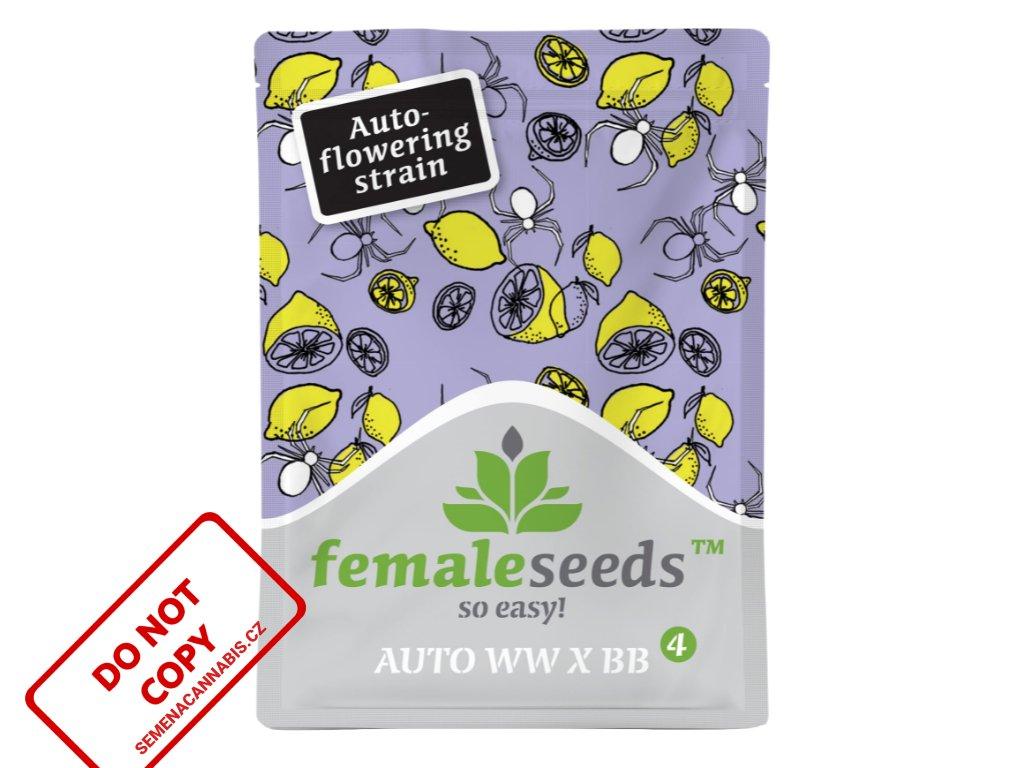 Auto White Widow x Big Bud   Female Seeds
