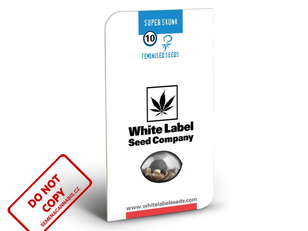 Super Skunk - White Label   Sensi Seeds