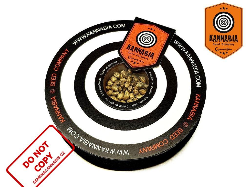 CBD BCN Diesel | Kannabia Seeds ((Ks) Feminized 3 + 1 Zdarma)