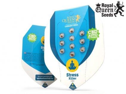 CBD Stress Killer AUTO | Royal Queen Seeds