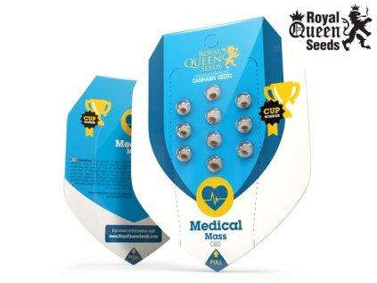 CBD Medical Mass   Royal Queen seeds