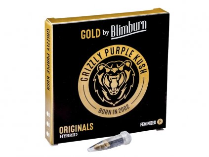 Grizzly Purple Kush | Blimburn Seeds ((Ks) Feminized 3)