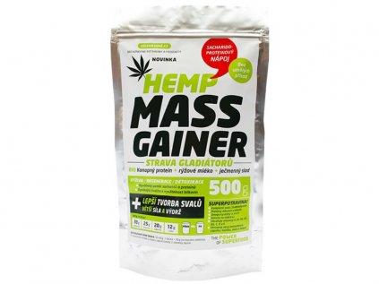 3127 1 konopny gainer fitness 500g zelena zeme
