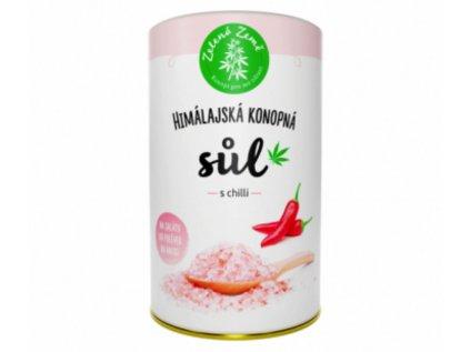 Konopná sůl s CHILLI  | Zelená Země