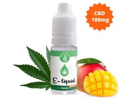 E-liquid s CBD 1%, příchuť Konopí - MANGOKUSH 10ml   Zelená Země