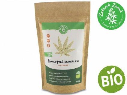 Konopné semínko loupané BIO 150g | Zelená Země