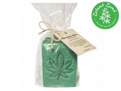 Konopná svíčka s Aloe vera, 80 g | Zelená Země
