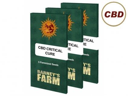 Cbd Critical Cure   Barneys Farm