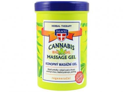 Konopný masážní gel, 380ml | Cannabis