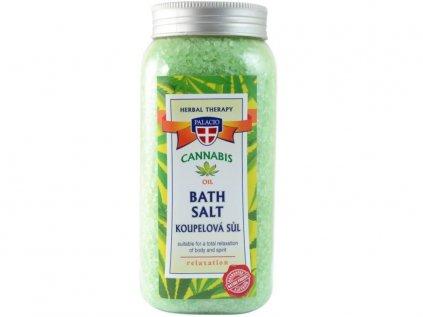 Konopná sůl do koupele , 900g | Cannabis