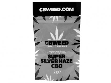 Super Silver Haze CBD 2g | CBWEED