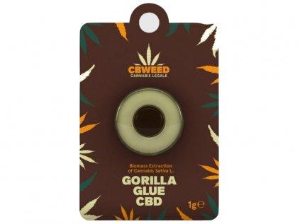 Gorilla Glue CBD Hashish 1g | CBWEED