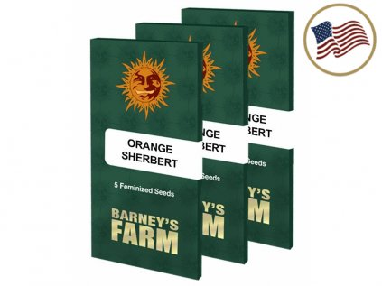 Orange Sherbert ™   Barneys Farm