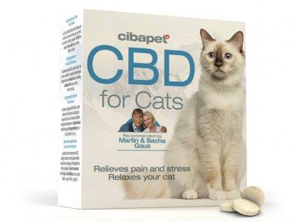 CBD tablety pro kočky, 100ks   Cibdol