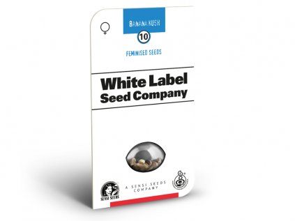 Banana Kush - American Line - White Label | Sensi Seeds