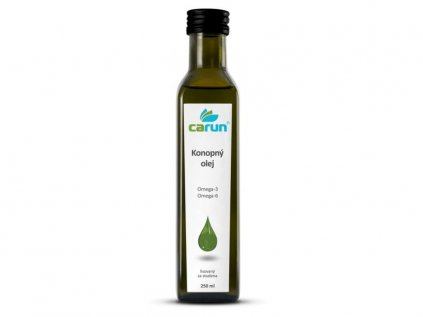 Panenský konopný olej 250 ml   Carun