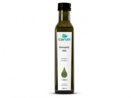 Panenský konopný olej 250 ml | Carun
